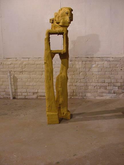 Second Desert Figure (Ochre)
