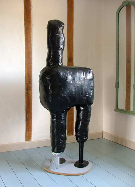 Three Legged Black Wrap